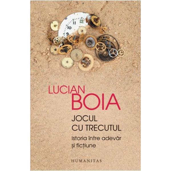 În acest eseu despre condi&539;ia istoriei profesorul Lucian Boia &537;i-a propus s&259; deslu&537;easc&259; regulile potrivit c&259;rora se petrece deplasarea dinspre real spre imaginar dinspre unica istorie care a fost spre multitudinea de reconstituiri posibile Sistemul de interpretare aplicat cazului românesc înIstorie si mit in constiinta