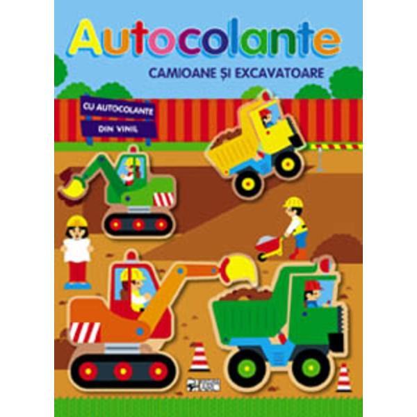 Autocolante Camioane si excavatoare
