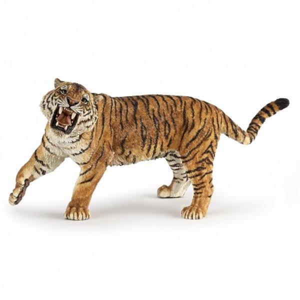 Tigru 2- Figurina PapoJucariaTigru 2 este o figurina pictata manual care aduce produsul foarte aproape de realitate prin cele mai mici detalii realizate cu o acuratete inaltaFigurinaTigru 2 poate fi o jucarie educationala pentru copii dar si o piesa de colectie pentru pasionatii fara