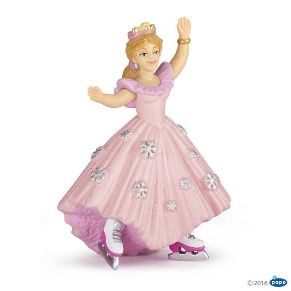 Figurina Papo - Printesa roz cu patineJucarie educationala realizata manual excelent pictata si poate fi colectionata de catre copii sau adaugata la seturile de joaca cum ar fi dragoni mutanti etc