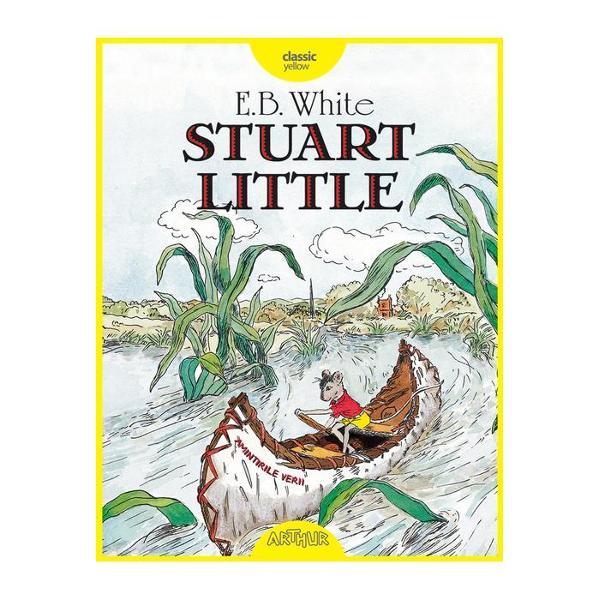 Stuart Little nu e un &537;oarece ca oricare altul S-a n&259;scut într-o familie de oameni locuie&537;te la New York cu p&259;rin&539;ii lui fratele mai mare George &537;i cu motanul Snowbell Sigur el e sfios &537;i t&259;cut dar când pofta de aventur&259; îi d&259; ghes nimic nu-i mai st&259; în cale Provocarea cea mare pentru temerarul &537;oricel apare când o