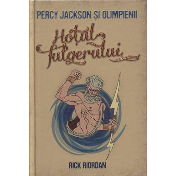 Rick Riordan&160;reuseste cu multa abilitate sa plaseze istorisirile din cartile lui Homer intr-un context actual folosindu-se de umor si reconstruind aventurile clasice intr-un ritm alert ce tine cititorul cu sufletul la gura Volumul prezinta aventurile lui Percy un pusti de doisprezece ani care descopera ca este semizeu fiind fiul unei muritoare si a zeului Poseidon&160;