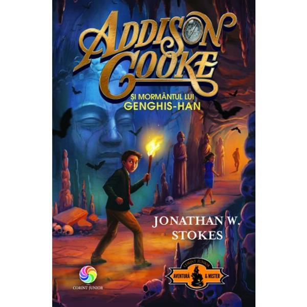 În aceast&259; nou&259; aventur&259; superhaioas&259; Addison Cooke &537;i prietenii lui reu&537;esc s&259; scape de gangster &537;i de capcane în cursa lor dup&259; legendara comoar&259; pierdut&259; a lui Genghis-han Nimic mai potrivit pentru fanii lui Indiana Jones sau ai seriei Vân&259;torii de comori de James Patterson ap&259;rut&259; de asemenea la Editura Corint Junior Atunci când m&259;tu&537;a &537;i unchiul lui Addison ajung s&259; fie