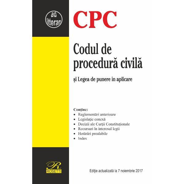 Codul de procedura civila 2017-11-07