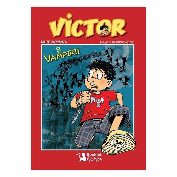 Victor Llobregat isi doreste sa fie japonez sau personaj de benzi desenate si sa-si schimbe numele in Victor Yubakuto Dar pana una-alta el ramane un baietel obijnuit cu o profesoara teribila pe care a poreclit-o Terminatoarea un taba nebun dupa karaoke si o mama care rataceste orice lucru Si totusi viata lui Victor este mult mai palpitanta decat ar parea la prima vedere Vacanta ii aduce promisiunea unei excursii pe urmele contelui Dracula Ce nu stie el inca este ca alaturi de colegul