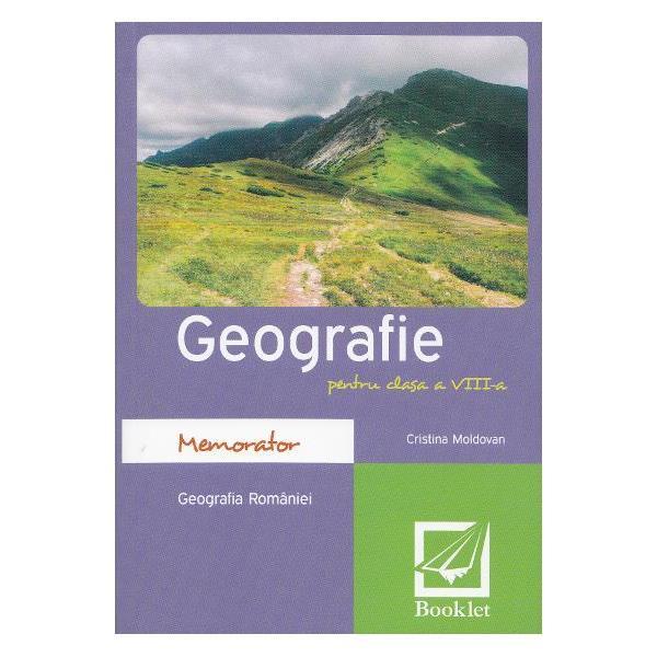 Memorator geografie clasa a VIIIa