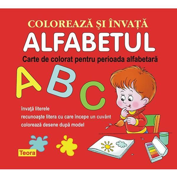 Alfabetul Coloreaza invata