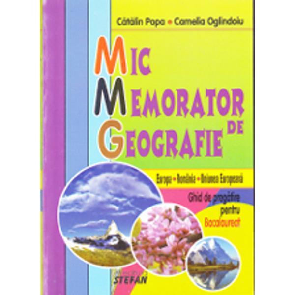 Mic memorator de geografie