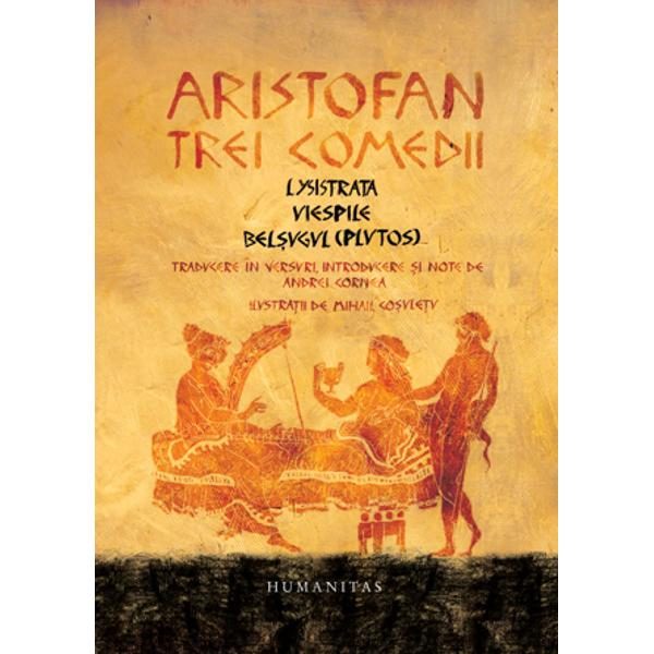 """""""Am fost întrebat la ce i-ar servi unui contemporan s&259; citeasc&259; fie &351;i numai cele trei piese de Aristofan pe care i le propun în volumul de fa&355;&259; Întrebarea nu-i f&259;r&259; sens Aristofan a tr&259;it acum aproximativ 2400 de ani; lumea lui era sau cel pu&355;in a&351;a ne-o închipuim complet diferit&259; de a noastr&259; la începutul secolului XXI Alte ocupa&355;ii alte griji alte bucurii pân&259; la"""