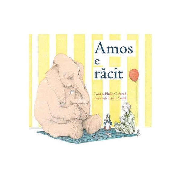 Amos lucreaz&259; la Gr&259;dina zoologic&259; În fiecare zi joac&259; &351;ah cu elefantul st&259; al&259;turi de pinguinul timid îi cite&351;te pove&351;ti bufni&355;ei care se teme de întuneric Dar într-o diminea&355;&259; Amos nu mai poate ajunge la Zoo…
