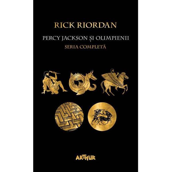 Pachetul con&539;ine toate volumele din serie în varianta paperbackPercy Jackson &351;i Olimpienii 1 Ho&355;ul fulgeruluiPercy Jackson &351;i Olimpienii 2 Marea Mon&351;trilorPercy Jackson &537;i Olimpienii 3 Blestemul TitanuluiPercy Jackson &351;i Olimpienii 4 B&259;t&259;lia din LabirintPercy Jackson &537;i Olimpienii 5 Ultimul Olimpian