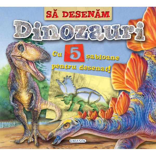 Sa desenem Dinozauri - cu sablaone