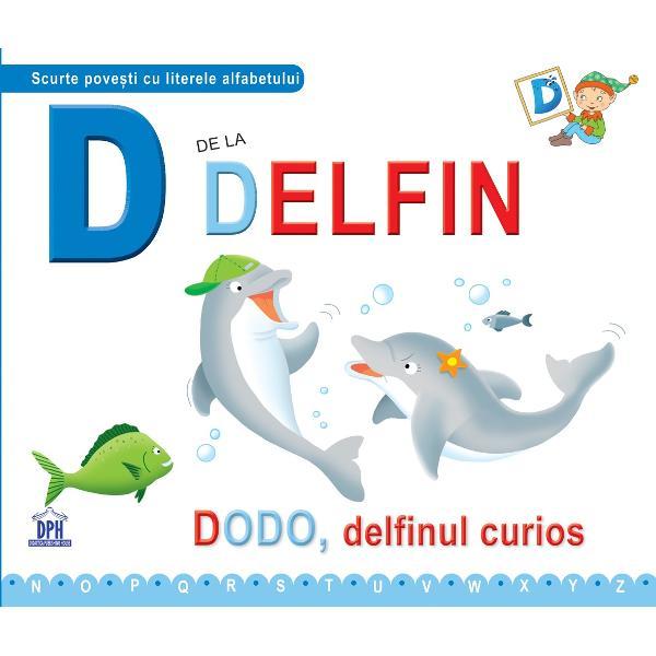 Dodo delfinul curios Delfinii înoat&259; &537;i se joac&259; în valurile m&259;rii În grupul mare de prieteni juc&259;u&537;i se afl&259; &537;i Dodo care are o dorin&539;&259; f&259;r&259; margini s&259;-i întâlneasc&259; pe oameni Oare a sosit ziua cea mare  Specifica&539;ii Pagini24 4 fi&351;e de lucru M&259;rimi225 x19 cm Copert&259;