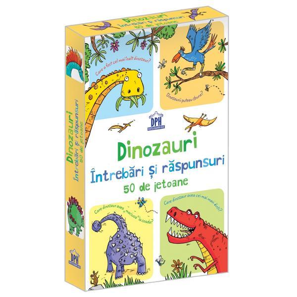 C&226;t de multe &537;tii de spre incredibilii locuitori ai lumii preistorice Deschide cutia &537;i vei afla lucruri interesante de spre dinozauri &537;i despre alte descoperiri surprinz&259;toare