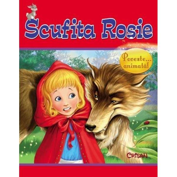Scufita Rosie Animale si povestianimate