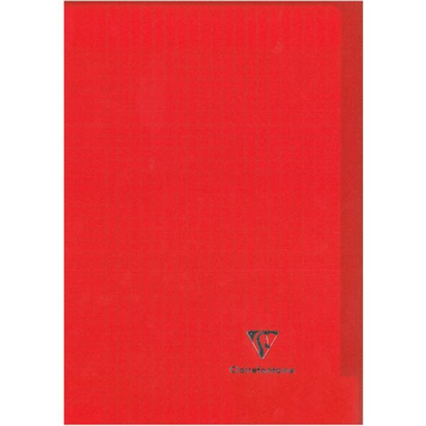 Caiet capsat Kover Book PP transp A4 48file matematica