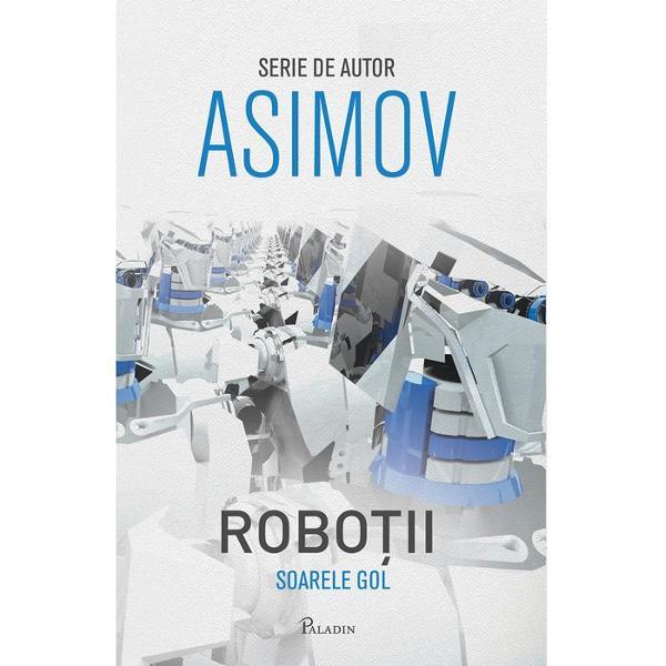 Robotul pozitronic era simbolul superiorit&259;&355;ii spa&355;ialilor asupra p&259;mântenilor Sem&259;na suficient de mult cu o arm&259;Crearea robo&355;ilor cu creier pozitronic a schimbat complet cursul istoriei &351;i a permis existen&355;a unei planete a izol&259;rii voite Simpla idee c&259; doi oameni s-ar putea întâlni fa&355;&259; în fa&355;&259; provoac&259; repulsie &351;i team&259;