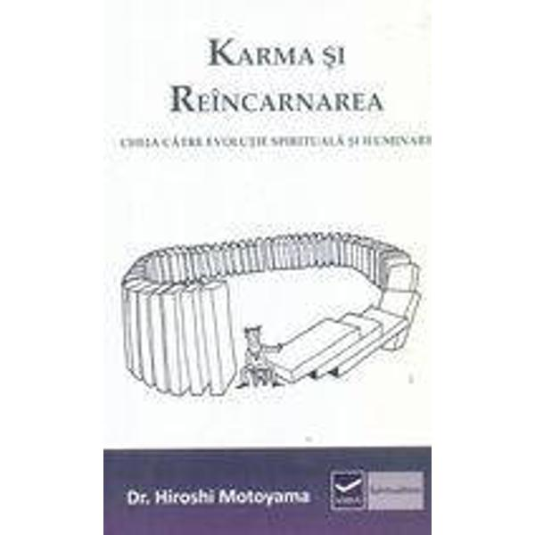 Hiroshi Motoyama om de stiinta si preot Shinto cu discipoli in lumea intreaga a ajuns la o stare de constiinta ce-i permite sa vada dincolo de limitele spatiului si timpului Utilizand exemple din propriile experiente psihice si munca sa de vindecator si indrumator Dr Motoyama ofera o explicatie clara in legatura cu evolutia continua a omului pentru ca problema principala e ca teoriile stiintifice ale evolutiei abordeaza doar dimensiunea fizica iar aceasta reprezinta doar un aspect al unei