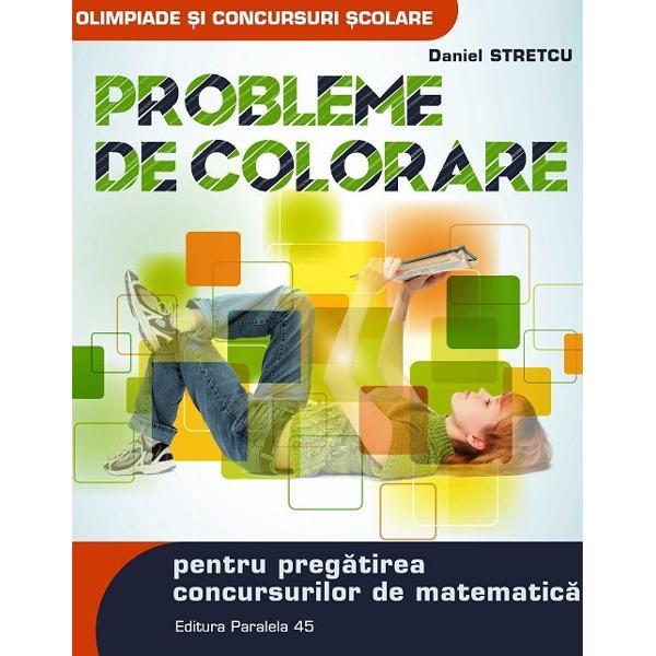 Fascina&355;ia pentru combinarea culorilor a fost transpus&259; &238;n matematic&259; din Antichitate astfel ap&259;r&226;nd o serie de probleme de acoperire pavare precursoare ale celor ce ast&259;zi sunt numite probleme de colorare Acestea se caracterizeaz&259; prin natura lor atipic&259; ce impune din partea rezolvitorilor ingeniozitate perseveren&355;&259; &238;n c&259;utarea solu&355;iilor dar &351;i o anumit&259; experien&355;&259; &238;n acest domeniuVolumul