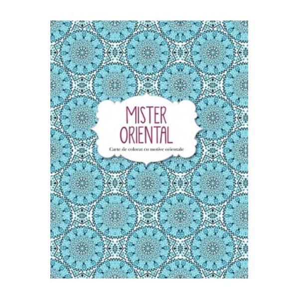 Mister oriental Carte de colorat