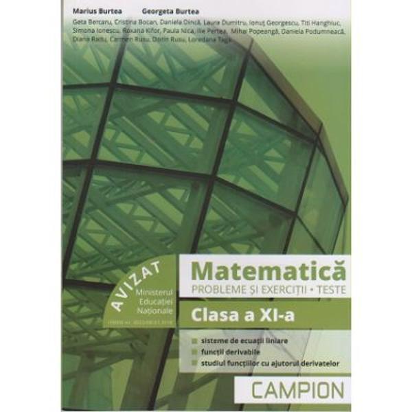 Matematica probleme si exercitii clasa a XI a profilul tehnic