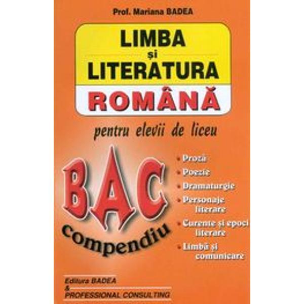 Literatura romana bac