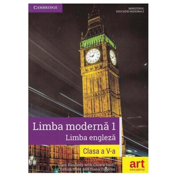 Limba engleza manual pentru clasa a V a L1  CD Cambridge