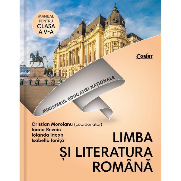 Limba H&25;i literatura romCnD&3; Manual pentru clasa a V-a