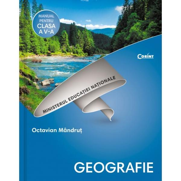 Manual de geografie clasa a V a  CD