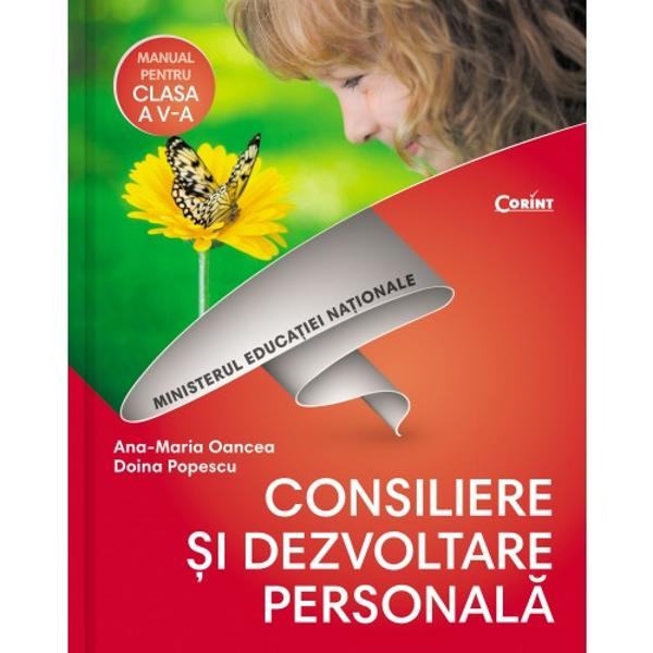 Manula de consiliere si dezvoltare personala clasa a V a  CD