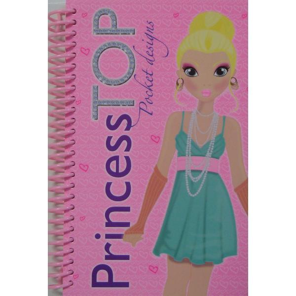 Princess Top - Pocket designs bleu