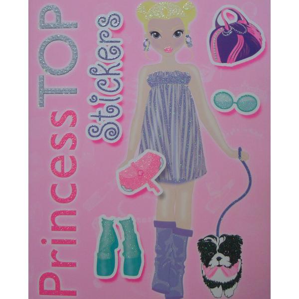 Princess Top - Stickers roz