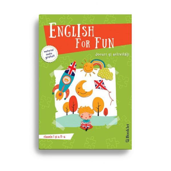 Cum înv&259;&539;&259;m cel mai bine Jucându-neEnglish for fun pentru clasele I &537;i a II-a ofer&259; elevilor la început de drum o modalitate captivant&259; de înv&259;&539;are a limbii engleze – prin jocuri &537;i activit&259;&539;i interactive adecvate vârstei intereselor &537;i nivelului de limb&259; ale celor miciPlin&259; de idei pentru copii p&259;rin&539;i &537;i profesori cartea exploreaz&259;