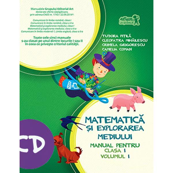 Manual de matematica si explorarea mediului clasa I semestrul I