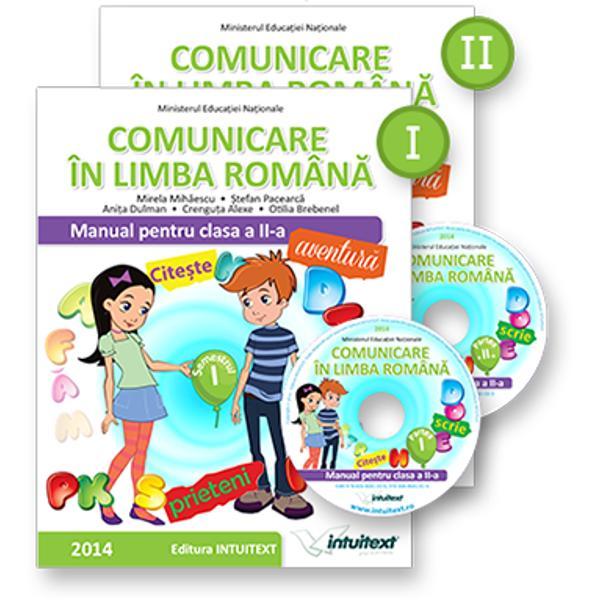 Comunicare in limba romana Manual pentru clasa a II a partea a II a  CD