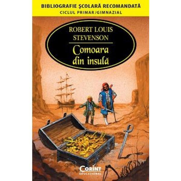 Romanul Comoara din insul&259; a fost dedicat fiului s&259;u vitreg Lloyd Osborne în 1881 &351;i avea s&259; devin&259; unul dintre cele mai îndr&259;gite romane de aventuri pentru tinerii cititori din întreaga lume Un roman cu pira&355;i h&259;r&355;i cu comori lupte &351;i înfrunt&259;ri pe mare un roman captivant cu momente de suspans bine gradate scris într-un limbaj savuros &351;i plin de culoare