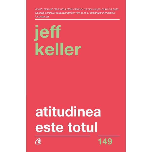 """De ce oare unii oameni reu&537;esc in tot ceea ce-&537;i propun iar al&539;ii nu Care este diferen&539;a dintre ei &537;i ce ar putea face cineva pentru a se numara printre invingatoriTotul &539;ine de atitudine de capacitatea de a te imagina in postura de invingator iar Jeff Keller da exemple concrete de oameni care au reu&537;it in via&539;a doar pentru ca au pastrat in minte imaginea lor atingand obiectivele propuse""""Con&539;inutul acestei car&539;i pare sa fie"""