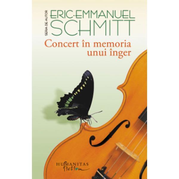 Concert în memoria unui înger a fost distins în 2010 cu Premiul Goncourt pentru nuvel&259; Pân&259; în prezent volumul a fost tradus în 15 limbiÎntr-un c&259;tun idilic din Fran&355;a o respectabil&259; doamn&259; în vârst&259; pe care justi&355;ia a exonerat-o de orice vin&259; este pe punctul de a-&351;i m&259;rturisi vina În mijlocul oceanului un marinar taciturn