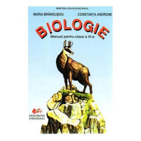 Manual de biologie clasa a VI a editia 2017