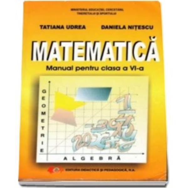 Manual de matematica clasa a VI a editia 2017