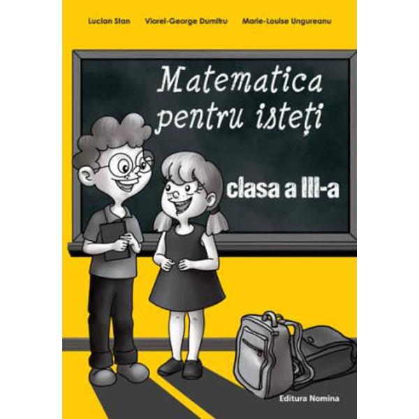 Acest volum va&131; provoaca&131; sa&131; descoperiti matematica Nu este o carte pentru oricine ci doar pentru acei elevi isteti care vor sa&131; rezolve cat mai repede si cat mai bine diferite probleme dificileMerita&131; citita&131; ISBN  978-606-535-496-8 Autor  Lucian Stan Pagini  80