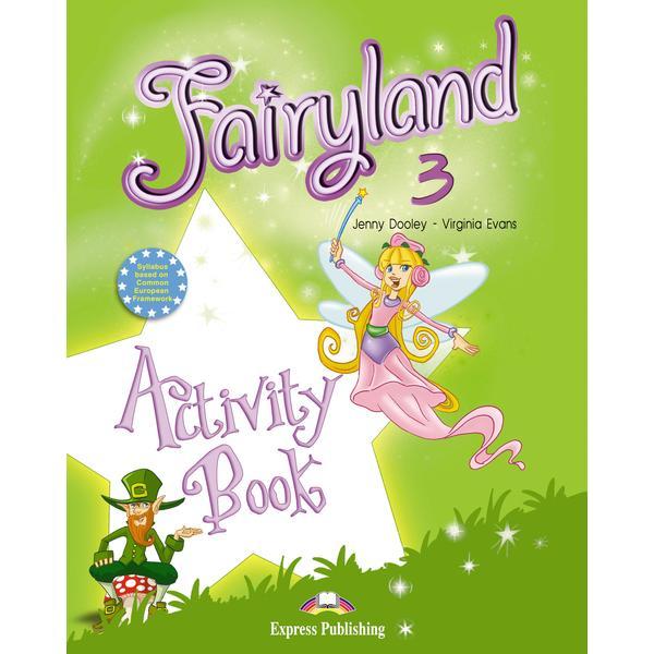 Caiet ilustrat color con&355;ine diverse activit&259;&355;i pentru &238;nv&259;&355;area limbii engleze de desenat de completat de descoperit de asociat de colorat de redactat etc destinate consolid&259;rii cuno&351;tin&355;elor acumulate &238;n urma studierii manualului elevului Fairyland 3 Caietul de activit&259;&355;i al elevului include pagini cu ab&355;ibilduri pentru a fi utilizate &238;n cadrul activit&259;&355;ilor dar &351;i pentru acordarea unor