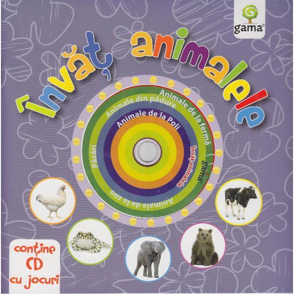 Invat animalele cu CD