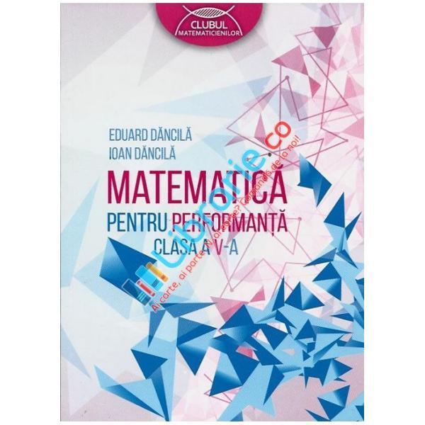Matematica pentru performanta clasa a V a