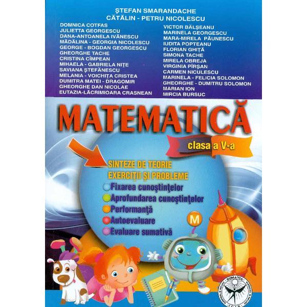 Matematica Sinteze de treorie exercitii si probleme clasa V a