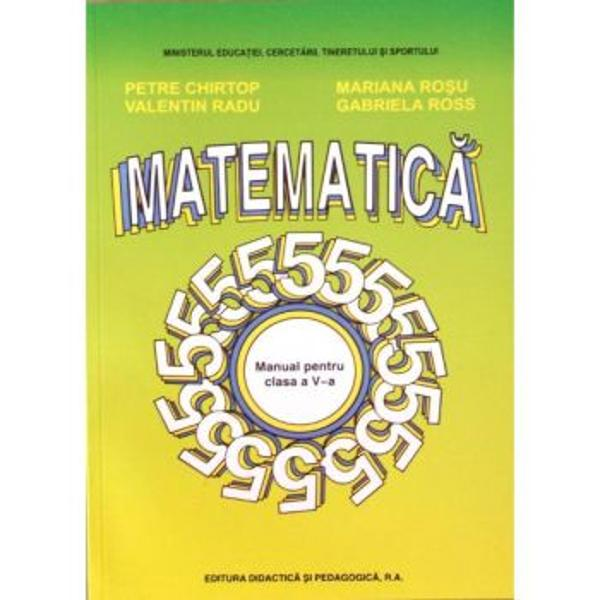 Matematica clasa a V-a 2013 - Chirtop
