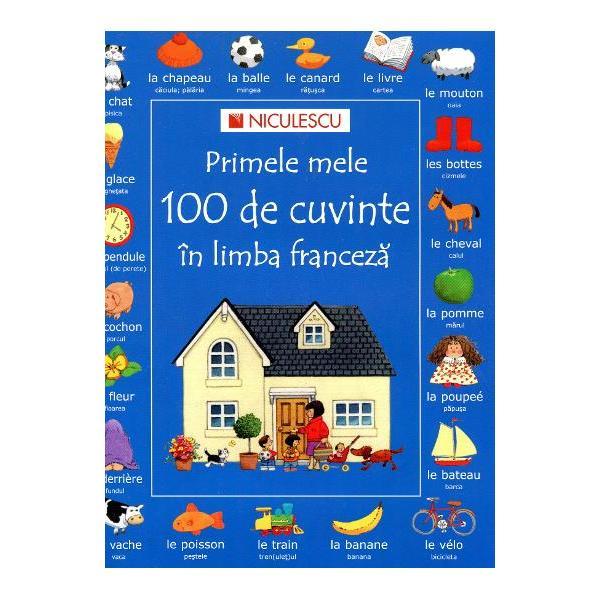 Aceasta carte se adreseaza copiilor cu varsta cuprinsa intre 3 si 6 ani care invata primele 100 de cuvinte in limba francezaspan stylefont-family Verdana Arial sans-serif;
