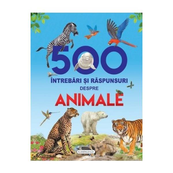 Stiati ca blana ursului polar nu este albaMamiferul cel mai somnoros este ursul koalaMulte alte informatii le veti gasi in aceasta carte minunat ilustrataCititi si veti fi uimiti