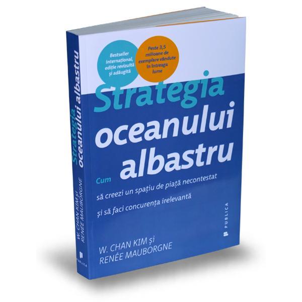 Strategia oceanului albastruargumenteaz&259; c&259; o concuren&539;&259; pe via&539;&259; &537;i pe moarte nu duce decât la un ocean ro&537;u însângerat în care rivalii se lupt&259; pentru un profit în sc&259;dere Bazat pe o analiz&259; a 150 de mi&537;c&259;ri strategice acoperind peste 100 de ani &537;i 30 de ramuri industriale autorii demonstreaz&259; c&259; succesul