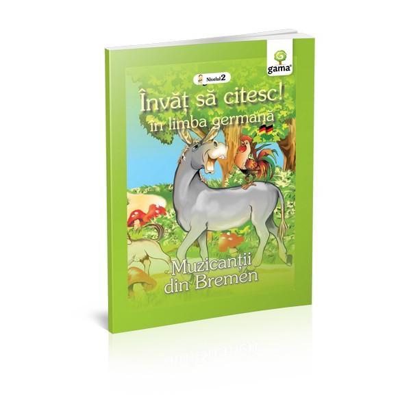 Haioasele peripe&539;ii ale animalelor care &537;i-au dorit s&259; devin&259; muzican&539;i &537;i au sfâr&537;it prin a speria tâlharii într-o carte creat&259; special pentru copiii care vor s&259; înve&539;e s&259; citeasc&259; în limba german&259;Cartea se adreseaz&259; cititorilor de nivel mediu care nu st&259;pânesc înc&259; un vocabular bogat Ilustra&539;iile pasate abil deasupra cuvintelor îi